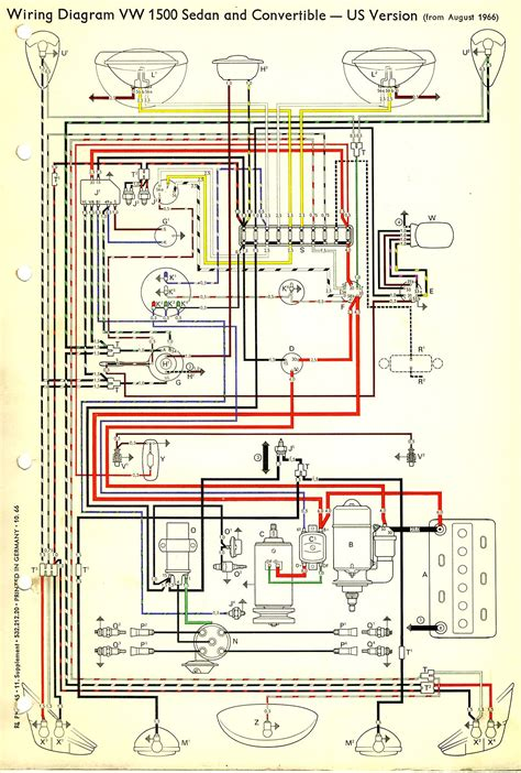 1967 beetle wiring diagram usa thegoldenbug