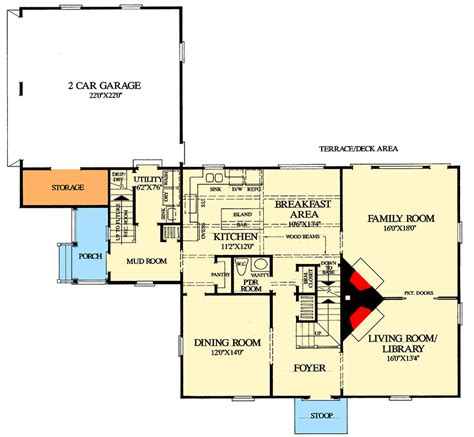 saltbox style house plans saltbox style historical house plan 32439wp