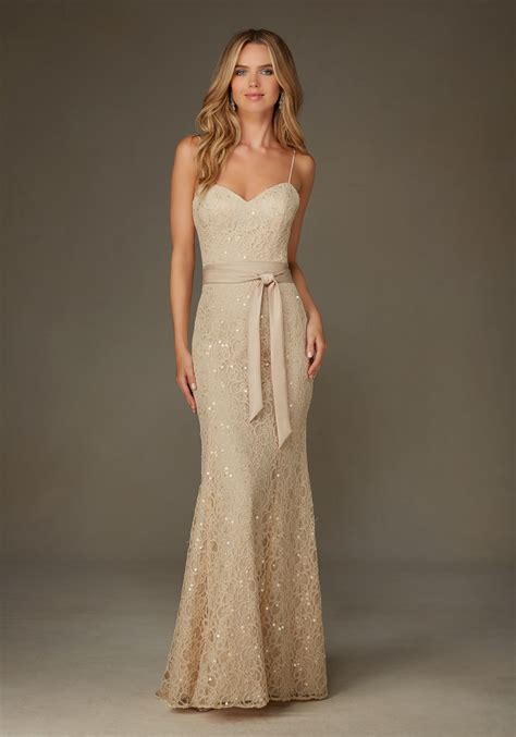 beaded lace dress beaded lace morilee bridesmaid dress with