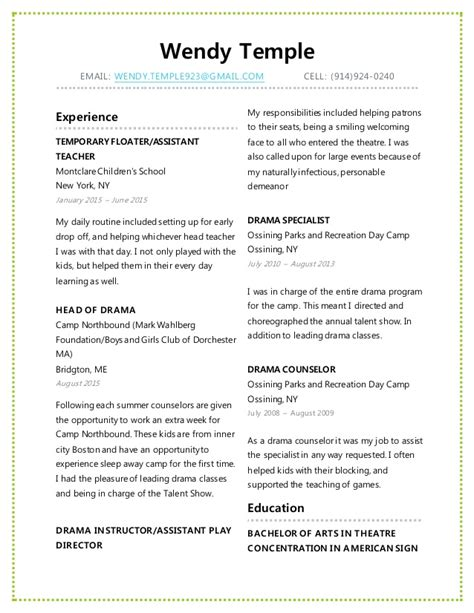 28 temple resume template free resume templates