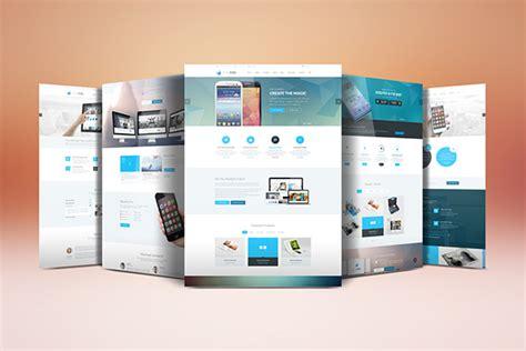 mockup design html website display mockup on behance