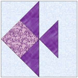 all stitches fish paper piecing quilt block pattern pdf