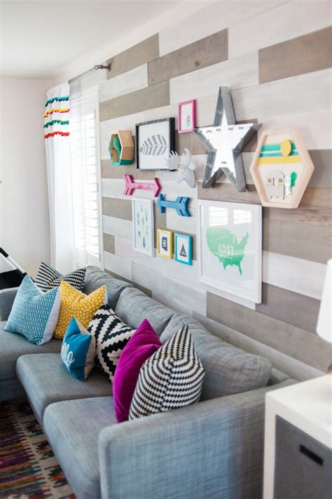 The Blue Room Play by Colorful Boho Playroom Project Nursery
