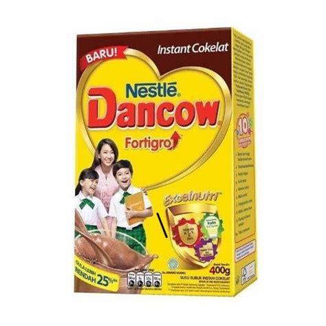 dancow 5 coklat box 400gr harga dancow enriched fortigro coklat box 800g