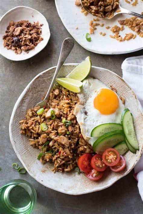 nasi goreng indonesian fried rice recipetin eats