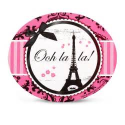 paris damask stickers this party started