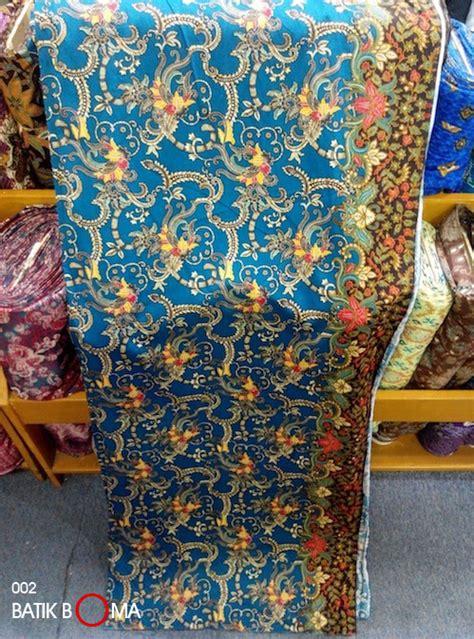 jual kain batik katun aseli jogja bomanta