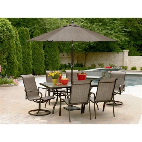 7 piece patio dining sets clearance charming 7 piece