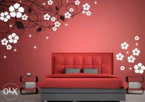 Wall Designs Paint floral wall stencil floral stencil designs lahore furniture