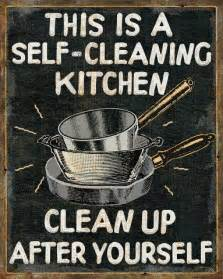 Signs To Keep Kitchen Clean » Home Design 2017