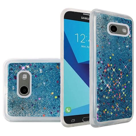 Fashion Water Gliter For Samsung Galaxy J7 for samsung galaxy j7 j727 2017 liquid glitter shiny water design ebay