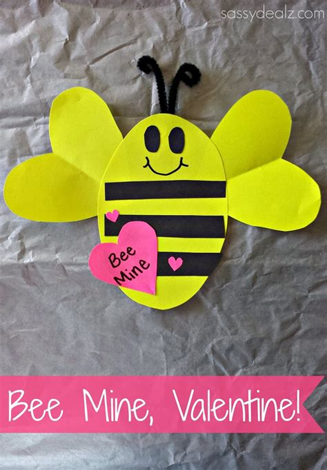 bee mine craft quot bee mine quot s day craft for crafty morning