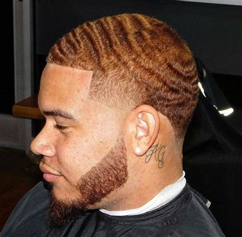 wave men haircuts 360 wave taper w beard fresh cuts pinterest 360