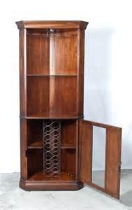 Corner Cabinet Wine Rack 281 Wine Corner Cabinet Lot 281