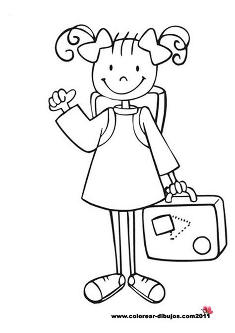 dibujos de ninos y ninas dibujos para colorear maestra de infantil y primaria