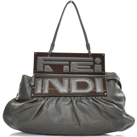 Fendi To You Embellished Convertible Bag by Fendi Leather To You Convertible Clutch Bag 22753