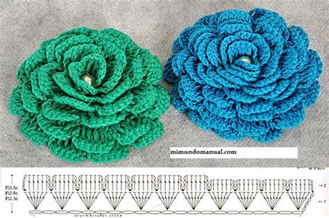 imagenes de flores tejidas a gancho maestra neila bonitas flores tejidos a crochet