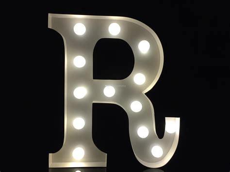 white metal light up letters 2018 vintage 9metal white light up letter r alphabet