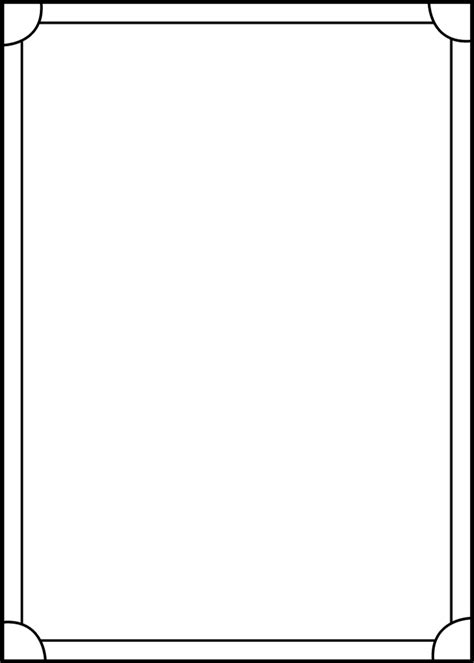 blank template for cards trading card template cyberuse
