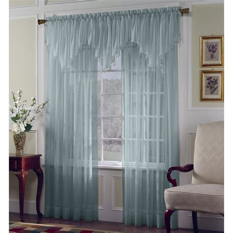 kmart window curtains sheer curtains window treatment kmart com