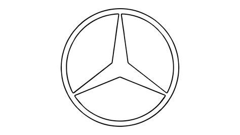 mercedes logos como desenhar o s 237 mbolo da mercedes emblema how