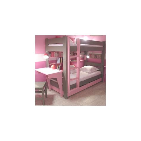 bunk bed with desk and drawers mathy by bols bunk bed with drawers desk in
