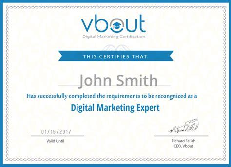 Digital Marketing Certificate Programs 2 what are the free digital marketing certificates