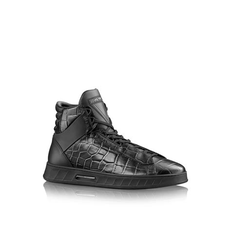 louis vuitton sneakers mens louis vuitton streetlight sneaker boot in black for lyst