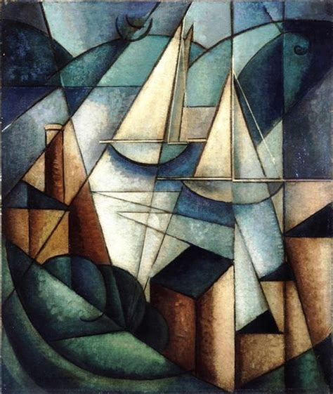 cubism movements in modern jean metzinger sailboats sc 232 ne du port ca 1912 arte cubism paintings and