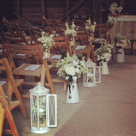 Wedding Aisle decor. Different objects.   Wedding Ideas