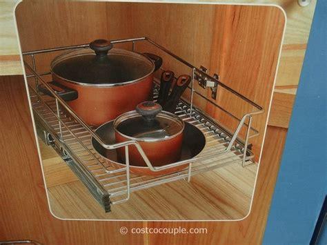 Kitchen Cabinet Organizers Costco Gourmet Select Sliding Cabinet Organizer