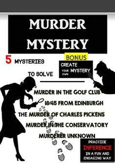 lesson plan for murder a master class mystery master class mysteries books murder mystery students use critical thinking and