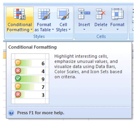 excel 2007 format cells based on another cell value conditional formatting vba excel 2007 excel tips from