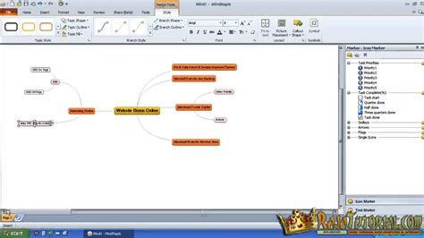 cara membuat edraw mind map cara membuat mind mapping