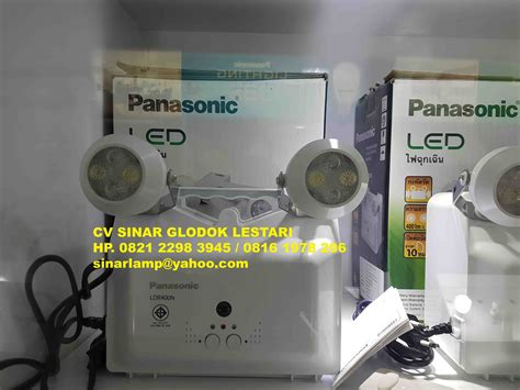 Lu Emergency Mata Kucing Panasonic led emergency light panasonic ldr400n