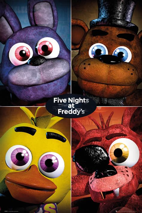 poster five nights at freddy s 227276 per soli 4 99 su
