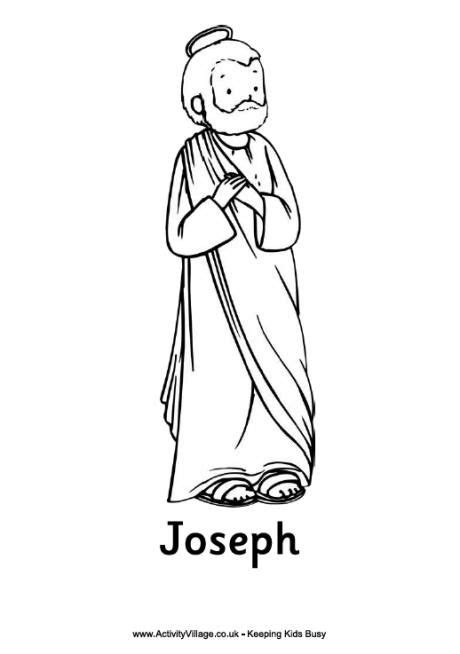 coloring pictures mary joseph 36 best nativity coloring sheets images on pinterest