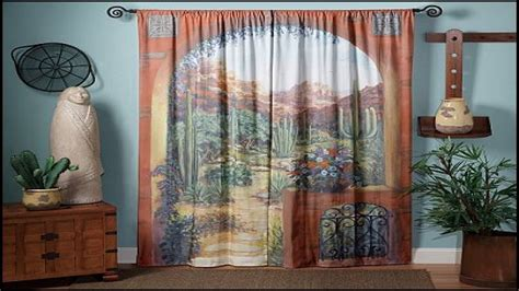 decorative ideas  bathrooms rustic window curtains rustic mexican style curtains interior