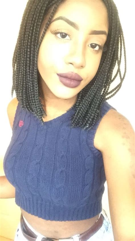 short box braids on pinterest short thin box braids hairstyles i want to try
