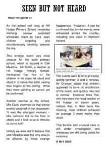 Sample News Report For Students Xhx Profile Tes