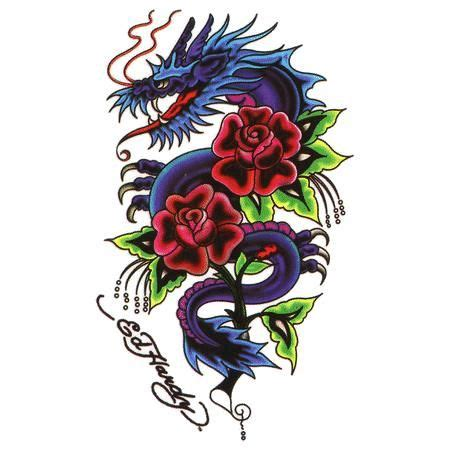 rose with dragon tattoo designs dragon rose tattoos