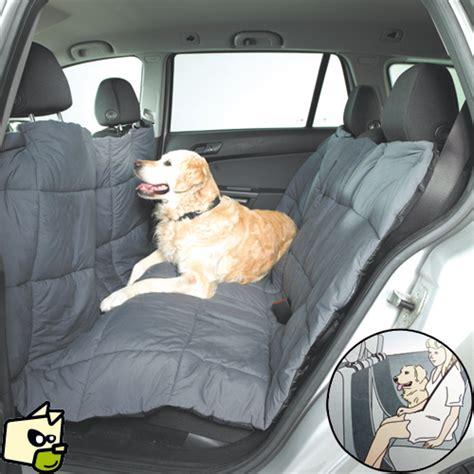 si鑒e auto pour chien housse couette pour prot 233 ger la banquette de voiture