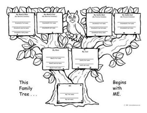 family tree template family tree template one side