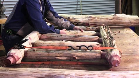 how to make a log bed rustic log bed littlebranch farm youtube