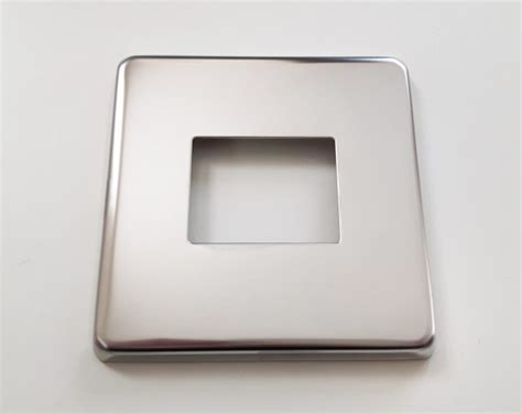 chrome light switch covers light switch cover plate conversion in chrome