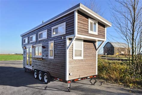 tiny houses on wheels for sale near me canap 233 tiny house on wheels w big kitchen and double sink vanity