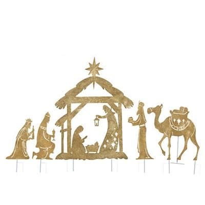 Nativity Yard Decor by Religious Gift Gifts
