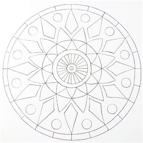 mandala design maker how to draw a mandala using grids create mixed media