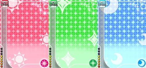 Live Card Template by Sr Unidolized Card Templates By Moonflower20000 On Deviantart
