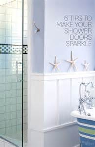 How To Get Glass Shower Doors Clean How To Clean Shower Doors